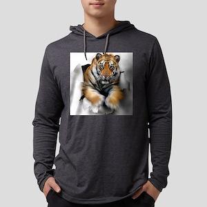 Tiger, artwork Mens Hooded Shirt