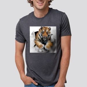 Tiger, artwork Mens Tri-blend T-Shirt