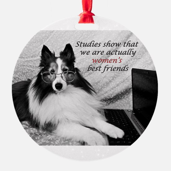 Woman's Best Friend Ornament