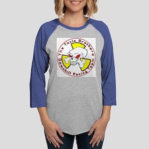 The Toxic Brothers Downhill Ra Womens Baseball Tee