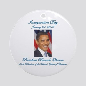 Inauguration Day Jan/21/2013 Ornament (Round)