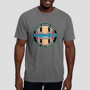 OIF Vet with CIB - 8 inc Mens Comfort Colors Shirt
