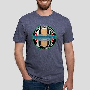 OIF Vet with CIB - 8 inch.p Mens Tri-blend T-Shirt
