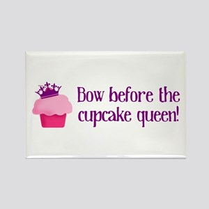 Queen Cupcake Rectangle Magnet