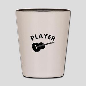 Guitar player design Shot Glass
