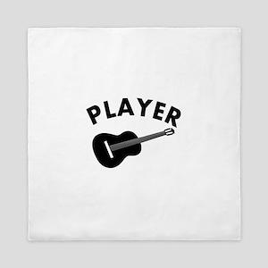 Guitar player design Queen Duvet