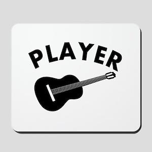 Guitar player design Mousepad
