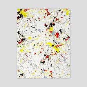 Paint Splatter Twin Duvet Cover