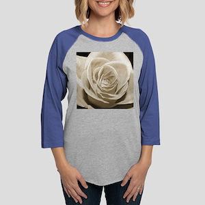 Sepia Rose Womens Baseball Tee