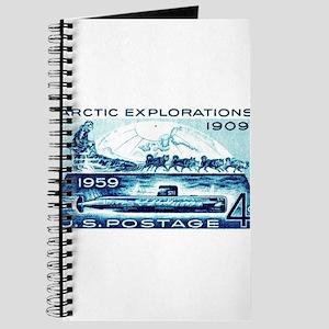 1959 U.S. Arctic Exploration Postage Stamp Journal