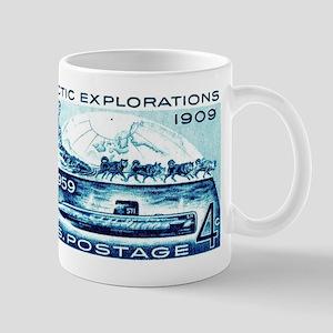 1959 U.S. Arctic Exploration Postage Stamp Mug