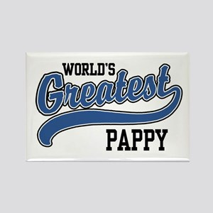 World's Greatest Pappy Rectangle Magnet