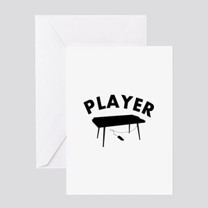 Keyboard player design Greeting Card