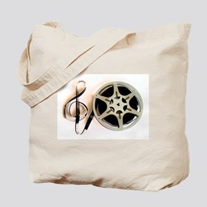 Reel and Clef Film Music Design2 Tote Bag