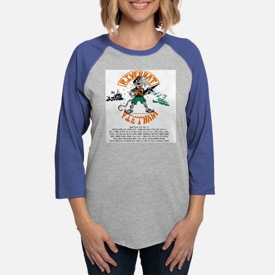 RiverRat.png Womens Baseball Tee