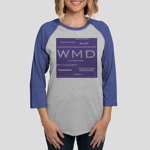 CleverBushSayingsTshirt Womens Baseball Tee