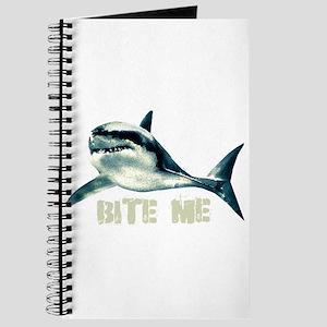 Bite Me Shark Journal