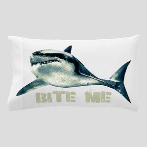 Bite Me Shark Pillow Case