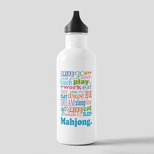 Mahjong Stainless Water Bottle 1.0L