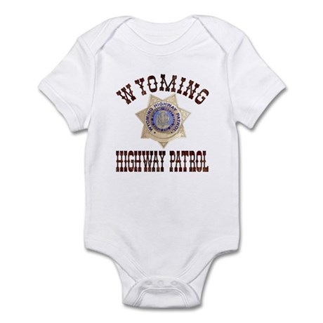 Wyoming Highway Patrol Infant Bodysuit