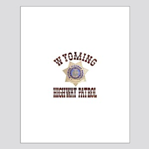 Wyoming Highway Patrol Small Poster