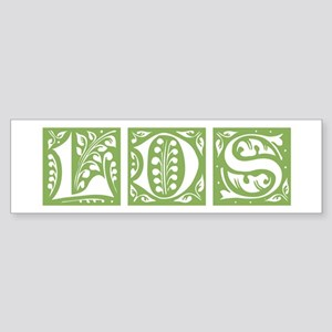 LDS ornamental (green) Bumper Sticker