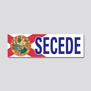 Secede - FLORIDA Car Magnet 10 x 3