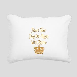 Alittle Crown Rectangular Canvas Pillow