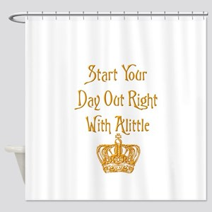 Alittle Crown Shower Curtain