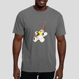 Paint Splatter with Arti Mens Comfort Colors Shirt