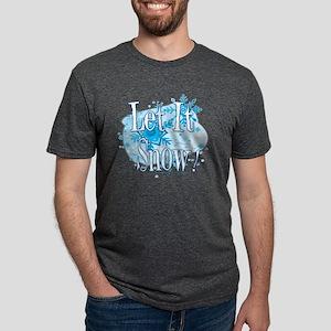 10x10_apparel letitsnowflak Mens Tri-blend T-Shirt