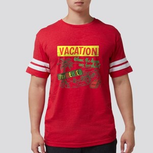 mexicovacation Mens Football Shirt
