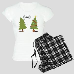 Christmas trees Women's Light Pajamas