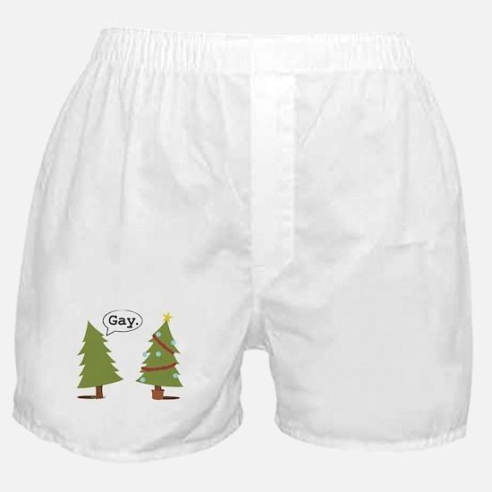 Christmas trees Boxer Shorts