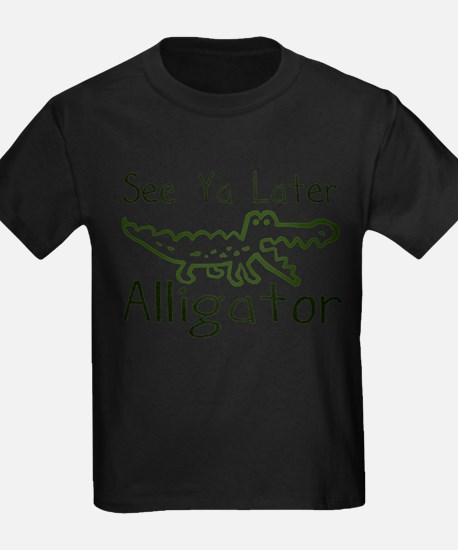 Later Alligator Kids T-Shirt