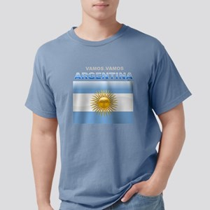 argentina_flag Mens Comfort Colors Shirt