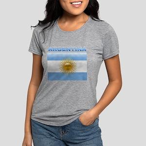 argentina_flag Womens Tri-blend T-Shirt
