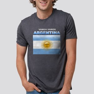 argentina_flag Mens Tri-blend T-Shirt