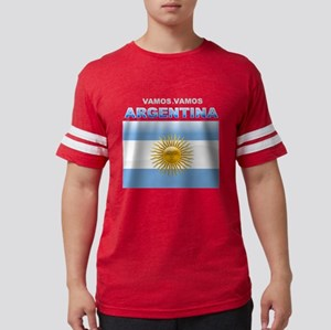 argentina_flag Mens Football Shirt