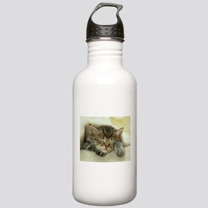 sleeping kitty Stainless Water Bottle 1.0L