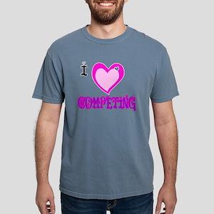 I Love COMPETING Mens Comfort Colors Shirt