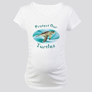 Sea Turtle Maternity T-Shirt