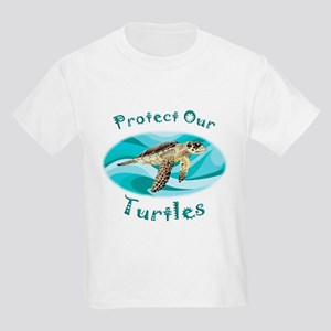 Sea Turtle Kids Light T-Shirt