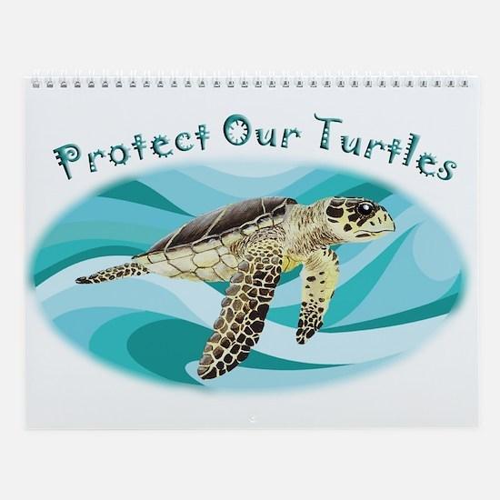Sea Turtle Wall Calendar