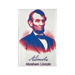 Abraham Lincoln Rectangle Magnet