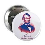 "Abraham Lincoln 2.25"" Button"