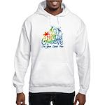 Island Groove hoodie (white)