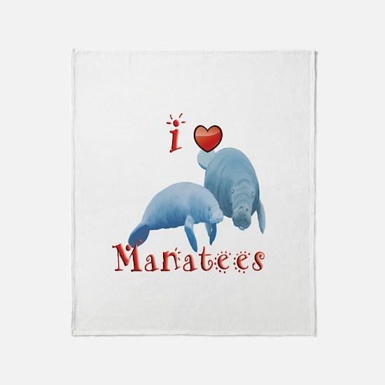 Manatee Throw Blanket
