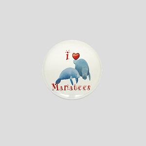 Manatee Mini Button