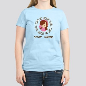 Personalized Book Club Women's Light T-Shirt